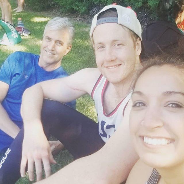 Triathletes ✔✔✔ #CompletedItMate