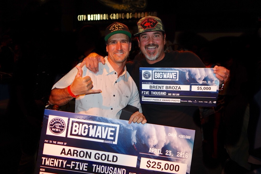 April 5, 2016 - WSL Big Wave Awards with Aaron Gold