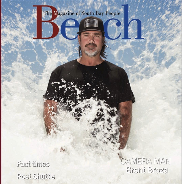 July 14, 2016 - Beach Magazine Cover - Brent Broza