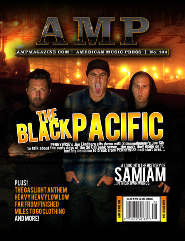 September 2010 - AMP Magazine Cover, Issue 104