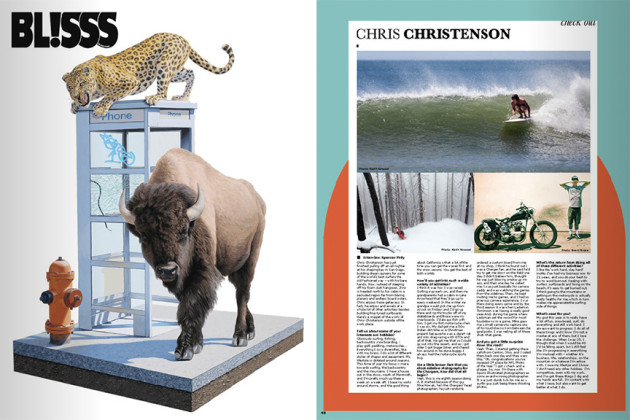December 2013 - Shaper, Surfer, Snowboarder & Motorcycle Enthusiast Chris Christenson