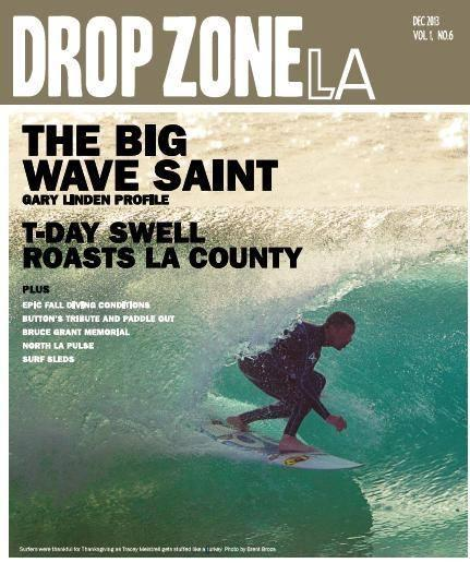 December 2013 - Drop Zone Cover - Tracey Meistrell