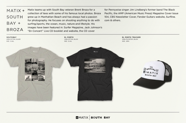 Matix x South Bay x Broza  T Shirt Collab - SOLD OUT