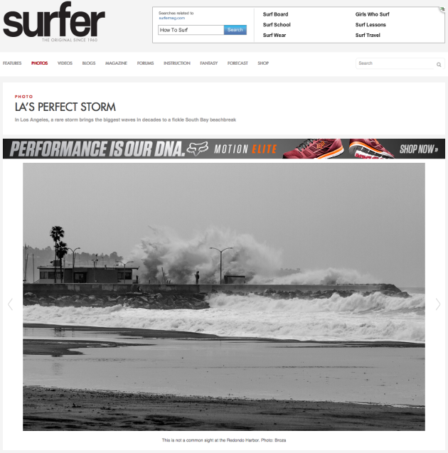 March 2, 2014 - Surfing Magazine - King Harbor