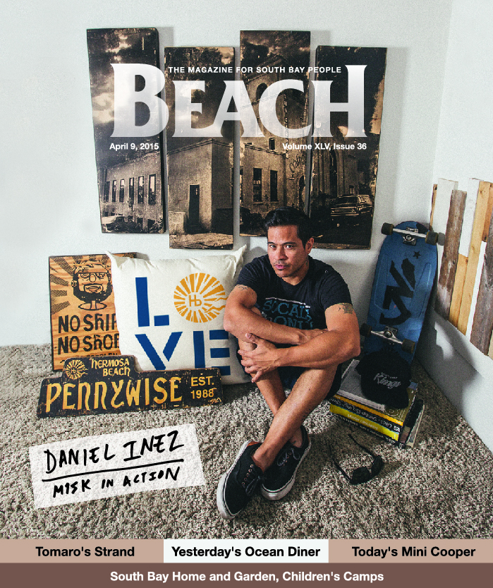 April 9, 2015 - Beach Magazine Cover - Daniel Inez of M1SK