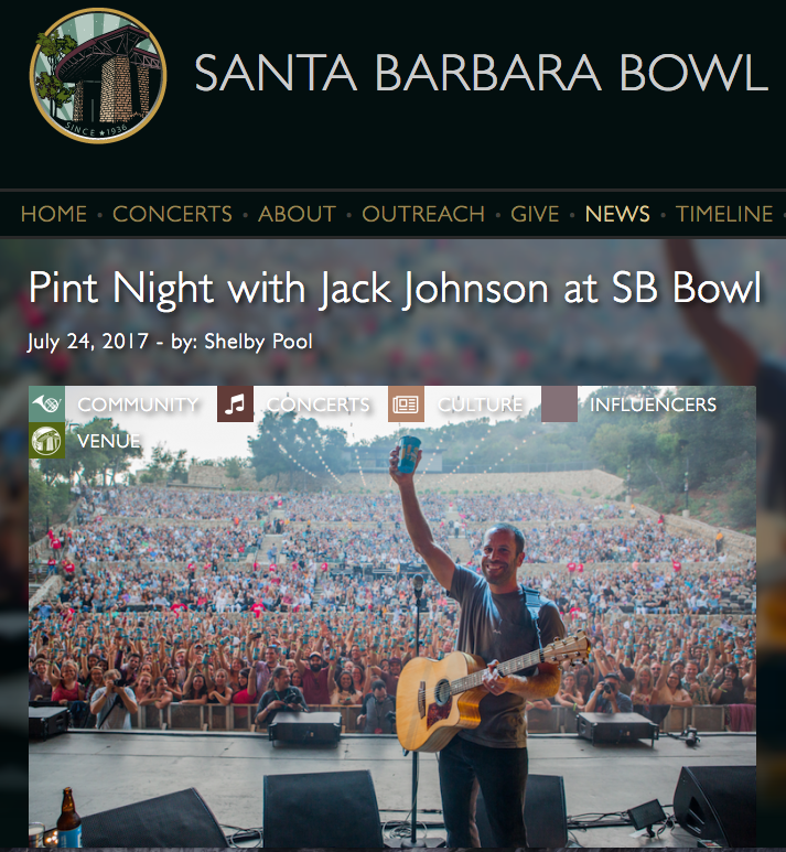 July 24, 2017 - Jack Johnson - Santa Barbara Bowl