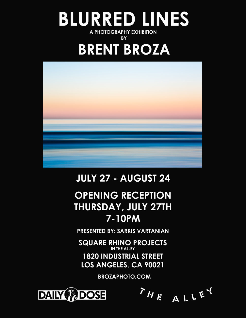 July 27, 2017 - Blurred Lines - Solo Art Show