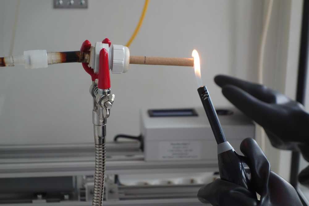 environmental tobacco smoke measured in the TOPIC II study