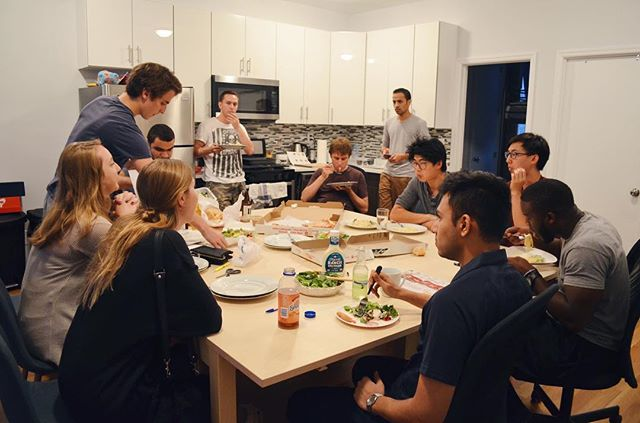 Joint dinners are our favorite for community building!