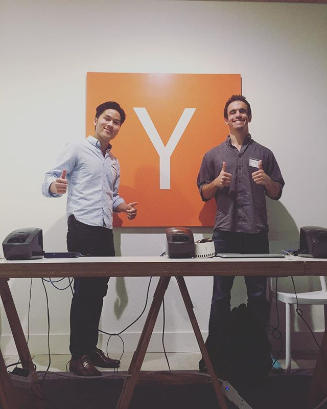 Ben and James visiting YC! #entrepreneurship #TRIBE