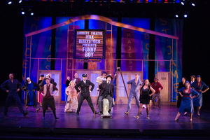 The Producers Broadway Set
