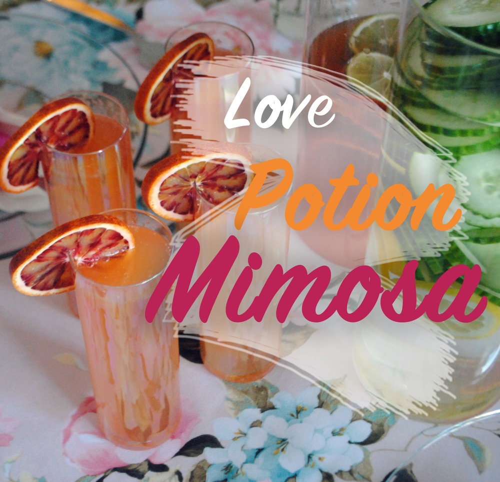 Pinterest Love Potion Mimosa Recipe