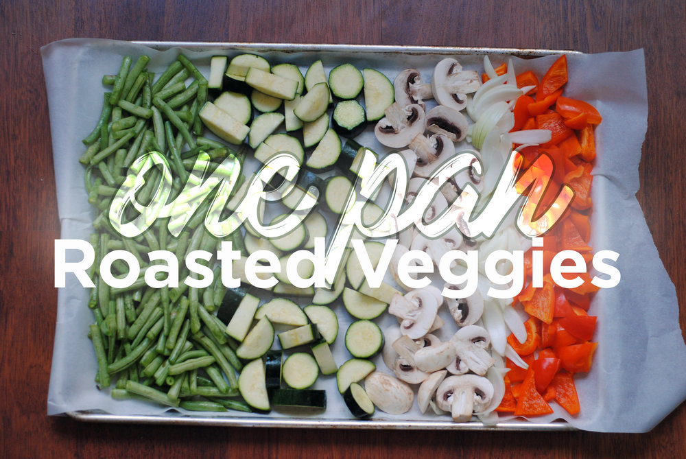 Sheet pan vegetables easy side dish
