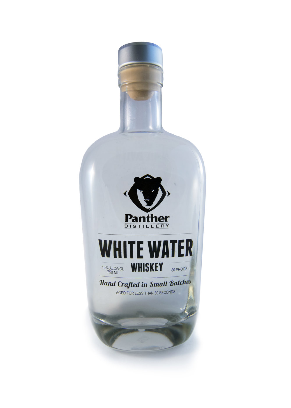 white water whiskey panther distillery