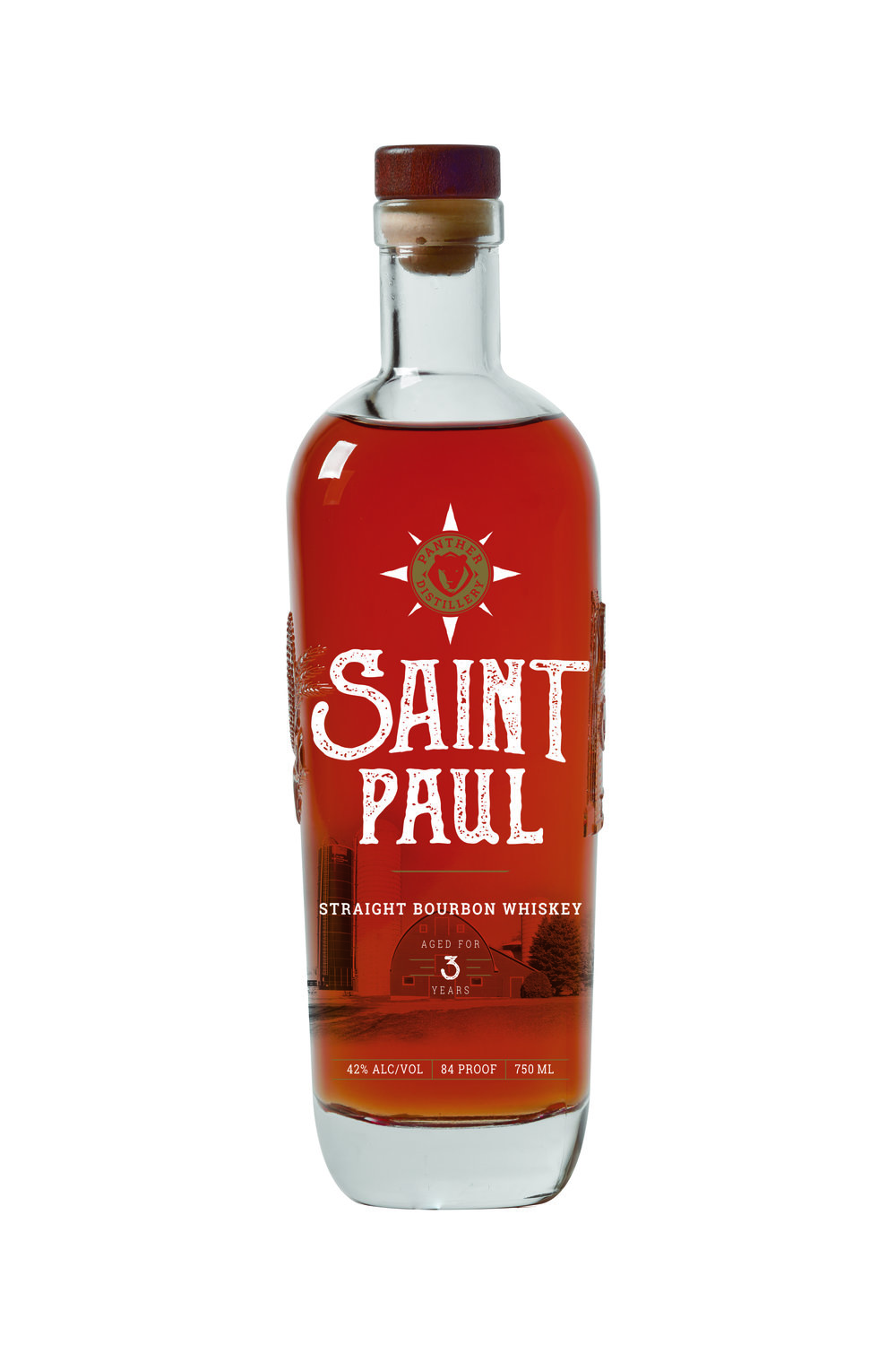 Saint Paul Bourbon Panther Distillery
