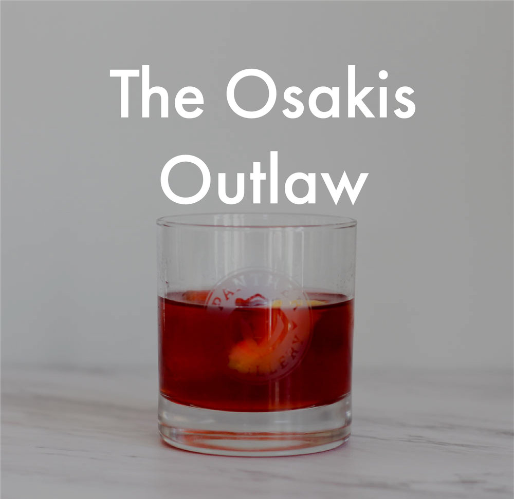 The Osakis Outlaw Cocktail Recipe