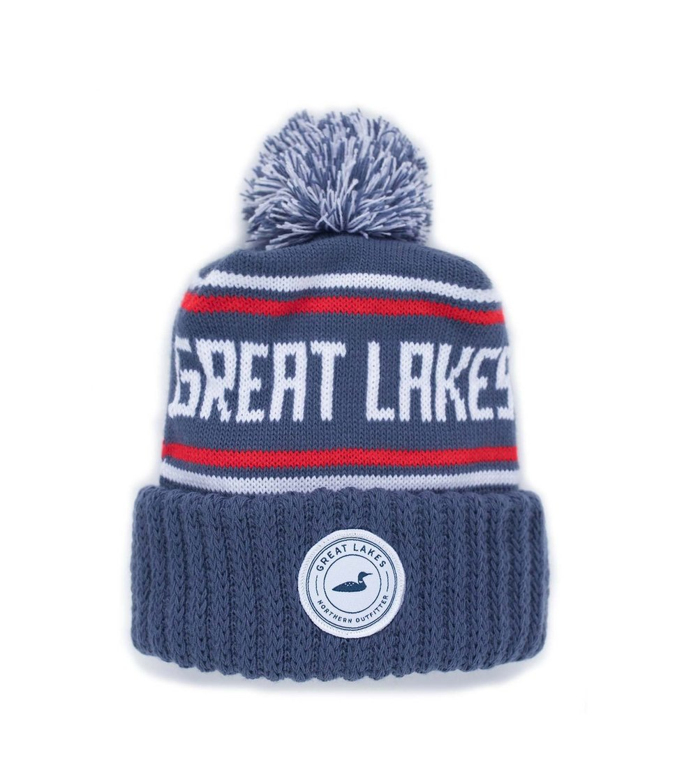 It doesn't get much better than a great hat for winter days! Great Lakes Collection Winter Knit Hat