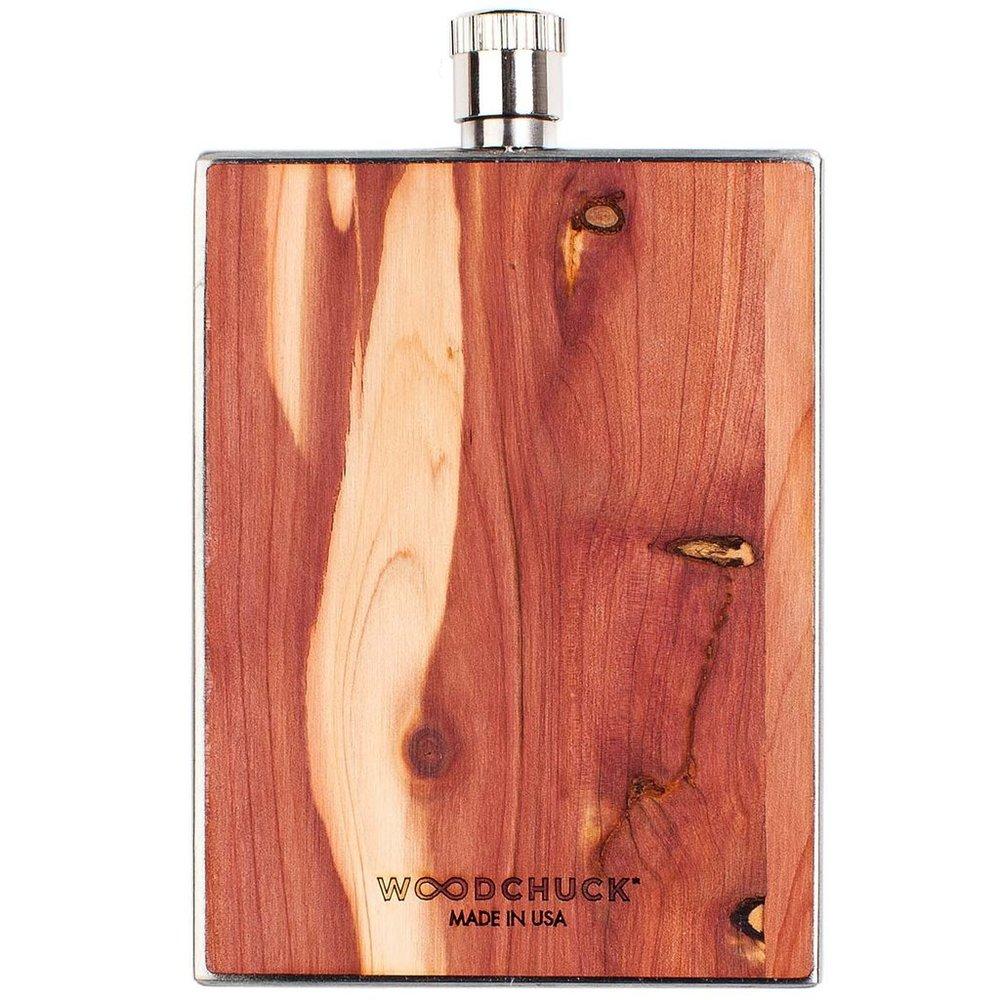 Woodchuck USA Wood Flask