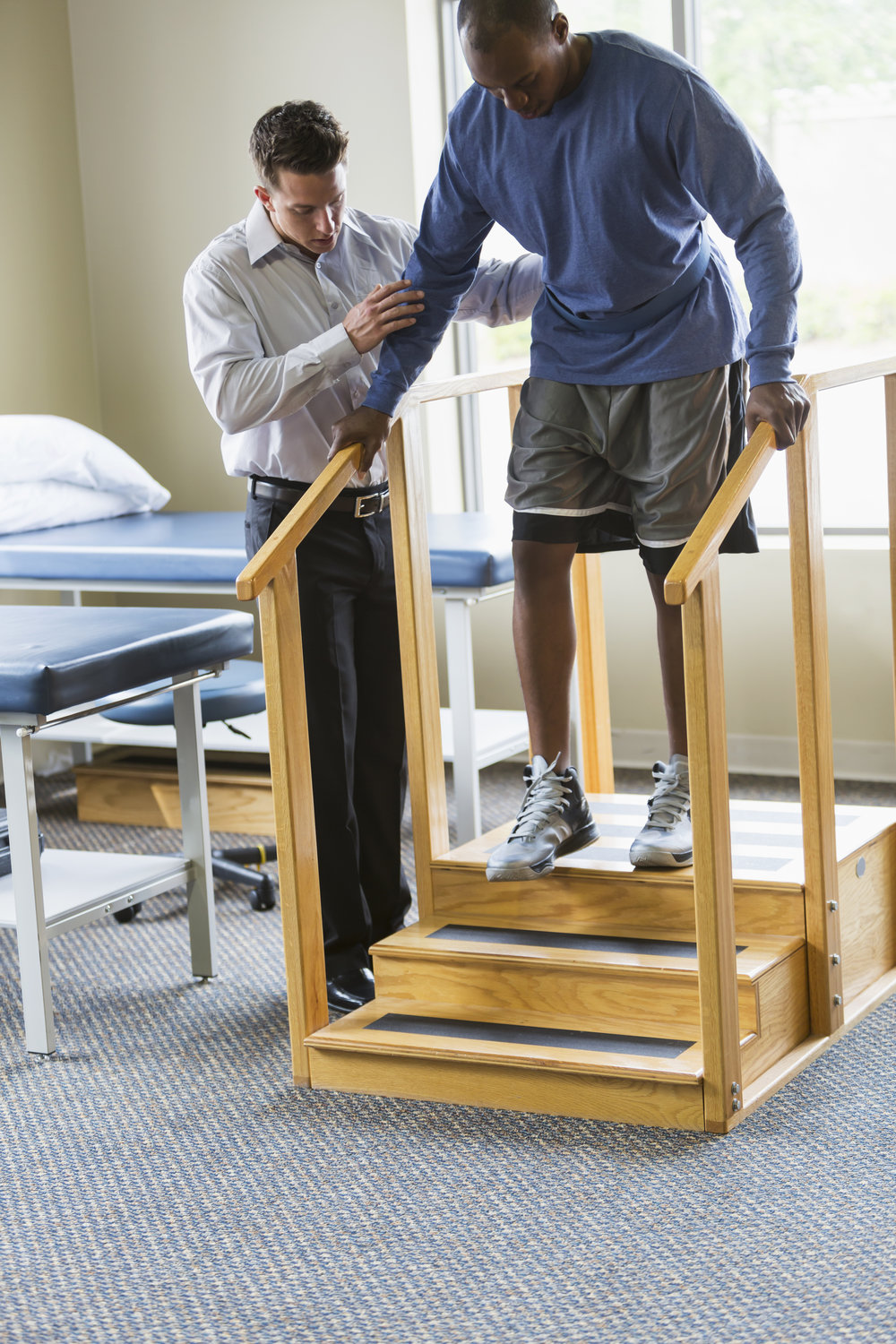 Physical therapy and rehabilitation is instrumental to full recovery from accident injuries.