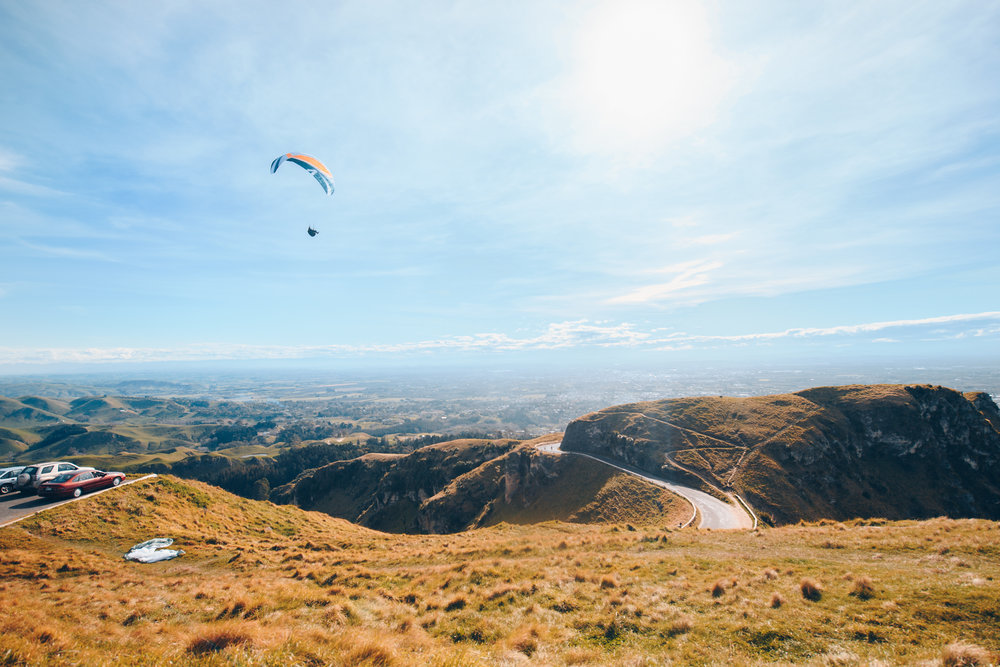 Can we take a moment and admire God's beauty! Look at this breathtaking view! This was shot on top of TeMata Peak in Hawkings, NZ.