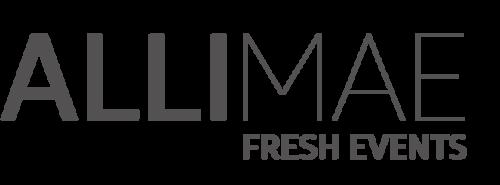 Alli Mae Fresh Events   www.allimae.com
