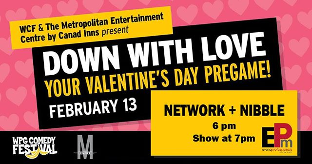 Tickets for our February Network + Nibble event are now available! EPM member @themetwpg  is hosting us for their Down With Comedy event on January 13th. Tickets available through Eventbrite, see link in our bio!  #eventprofessionalsmanitoba #epm #eventprosmb #epmanitoba #eventpros #eventprofessionals #winnipeg #ywg #manitoba #manitobaevents #winnipegevents #winnipegnightlife #ywgevents #wpgnow #winnipegcomedy #comedy #networking #b2b #b2bnetworking #winnipegbusiness