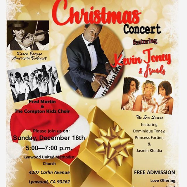 We're singing some Christmas tunes this Sunday at Lynwood United Methodist Church's Annual Christmas Concert. It's free! Come!