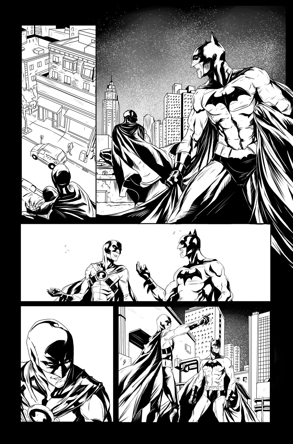 Pencils- Marcus To  Inks- Me