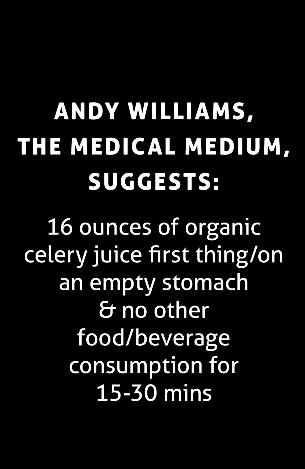 https://www.medicalmedium.com/blog/celery-juice-101