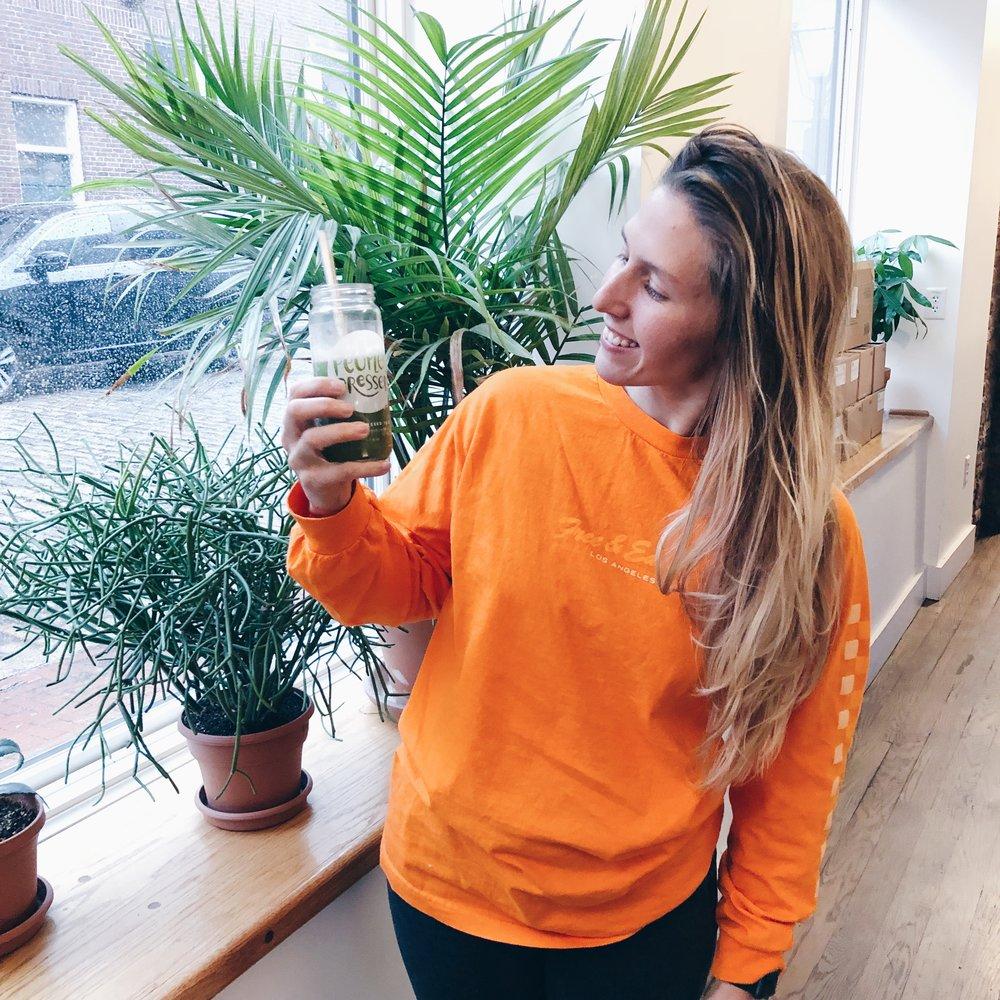 Amanda's Celery Juice
