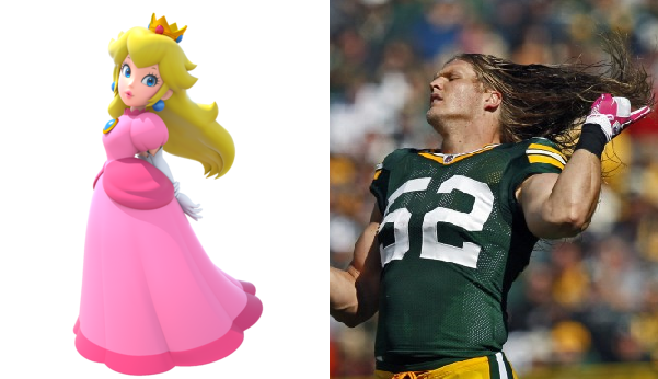 clay-matthews-princess-peach-mario