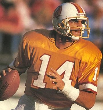 21 years in the NFL was enough for Testaverde, the last player to don the creamsicle orange.