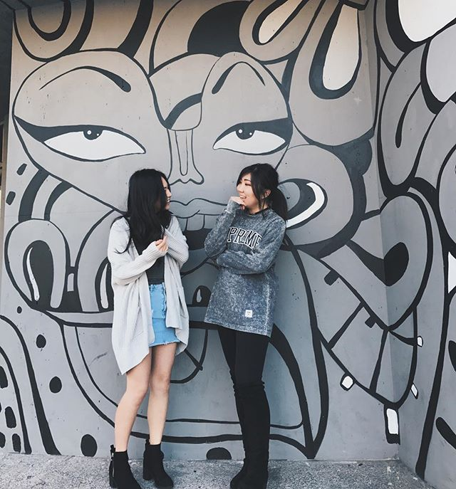 we r gray-teful 4 gray-ce (only cause she took the pic!😜) #bloggerinmaking #followgrace . . . . . . . . #linkinbio #fashionblog #blogger #lifestyle #fashionblogger #style #styleblogger #ootd #igfashion #streetstyle #fashionblogs #styleoftheday #streetstyleluxe #zara #asos #asosus #LA #fashiondaily #mylookbook #blog #ootdmagazine #fashion #herdailylook #styles #vsco #ihateschool