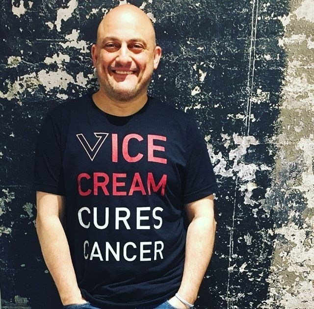 In honor of our founder Dan being diagnosed with cancer 4 years ago and beating it, we are donating a portion of all sales this month to some of the finest cancer centers in the world, like @danafarber in Boston, Moffitt in Tampa, the Mayo Clinic in Jacksonville, and the Miami Cancer Institute. Here at Vice Cream, our backstory fuels our passion. Two months after founding Vice Cream, Dan was diagnosed with Lymphoma and had it not been found, he had three months to live. He beat it and is officially cancer free. This life event changed the idea of Vice Cream from what it was to what it is today. We believe in Pints with a Purpose, and our purpose is to bring smiles to the faces of cancer patients and their families, donating over $25,000 to cancer centers around the country during our first year alone. We may be a small startup, but we believe that every bite counts. Go grab a pint of Vice Cream at a store near you and indulge for a good cause. Life's short, eat freaking ice cream. • • • #eatvicecream #vicecream #pintswithapurpose #efic #cancersucks #fightcancer #cancersurvivor #cancerawareness #lifeisshort #danafarber #americancancersociety #livestrong #lls #boston #tampa #jacksonville #tampa #publix #rochebros #harristeeter #keyfood #stopandshop #rochebrothers #safeway #kingkullen #shoprite #jewel #cubfoods #supervalue #wegmans