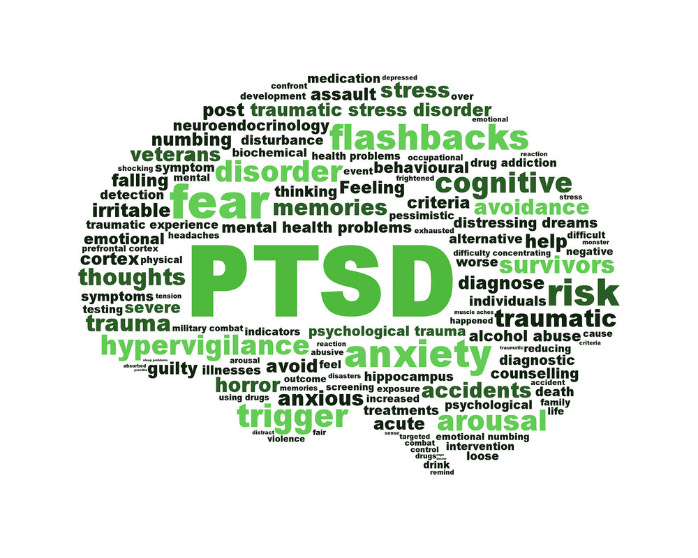 click image to learn more about PTSD