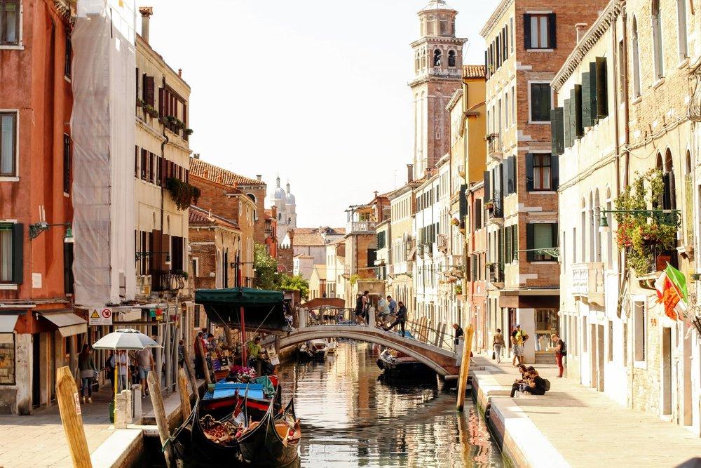 Venice is fairytale pretty.