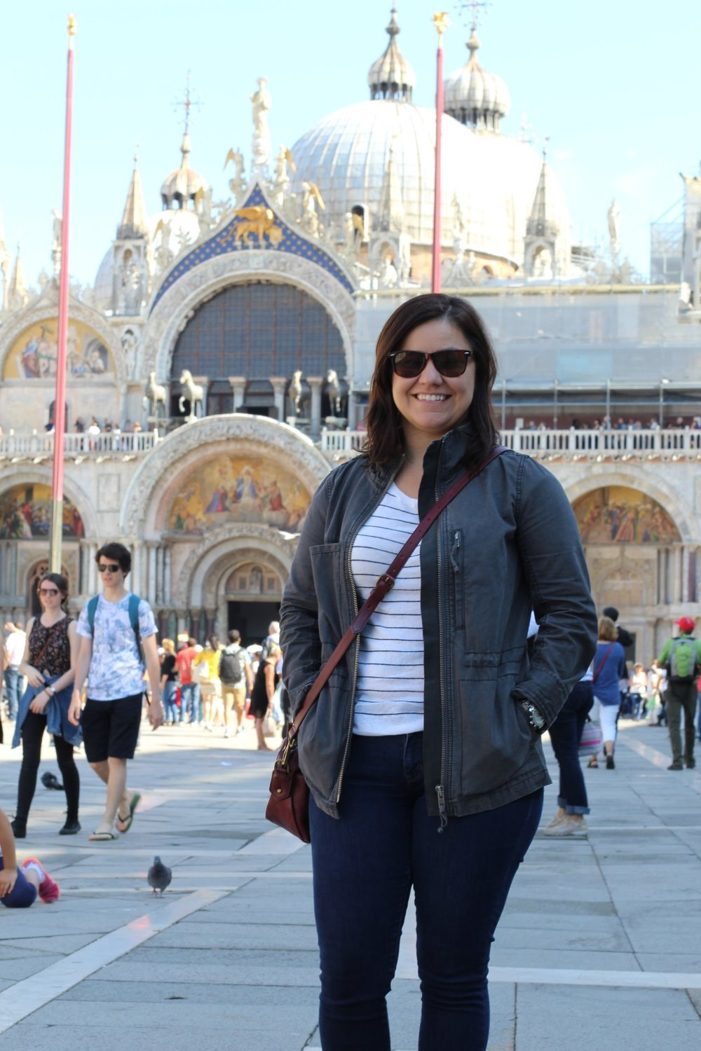 Pictured: me, not a prostitute, in Piazza San Marco.