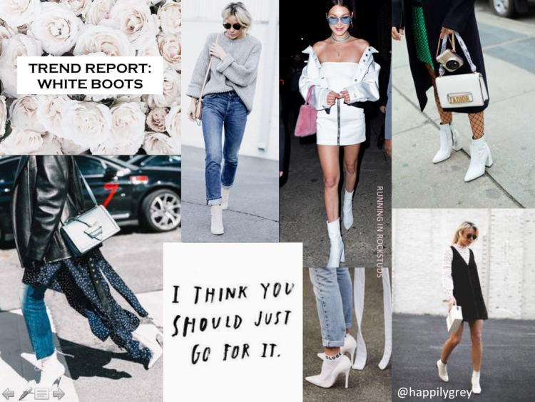 Imagini pentru fashion white boots