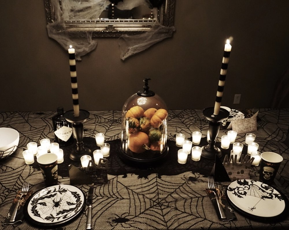 boo! my halloween party decor! — running in rockstuds