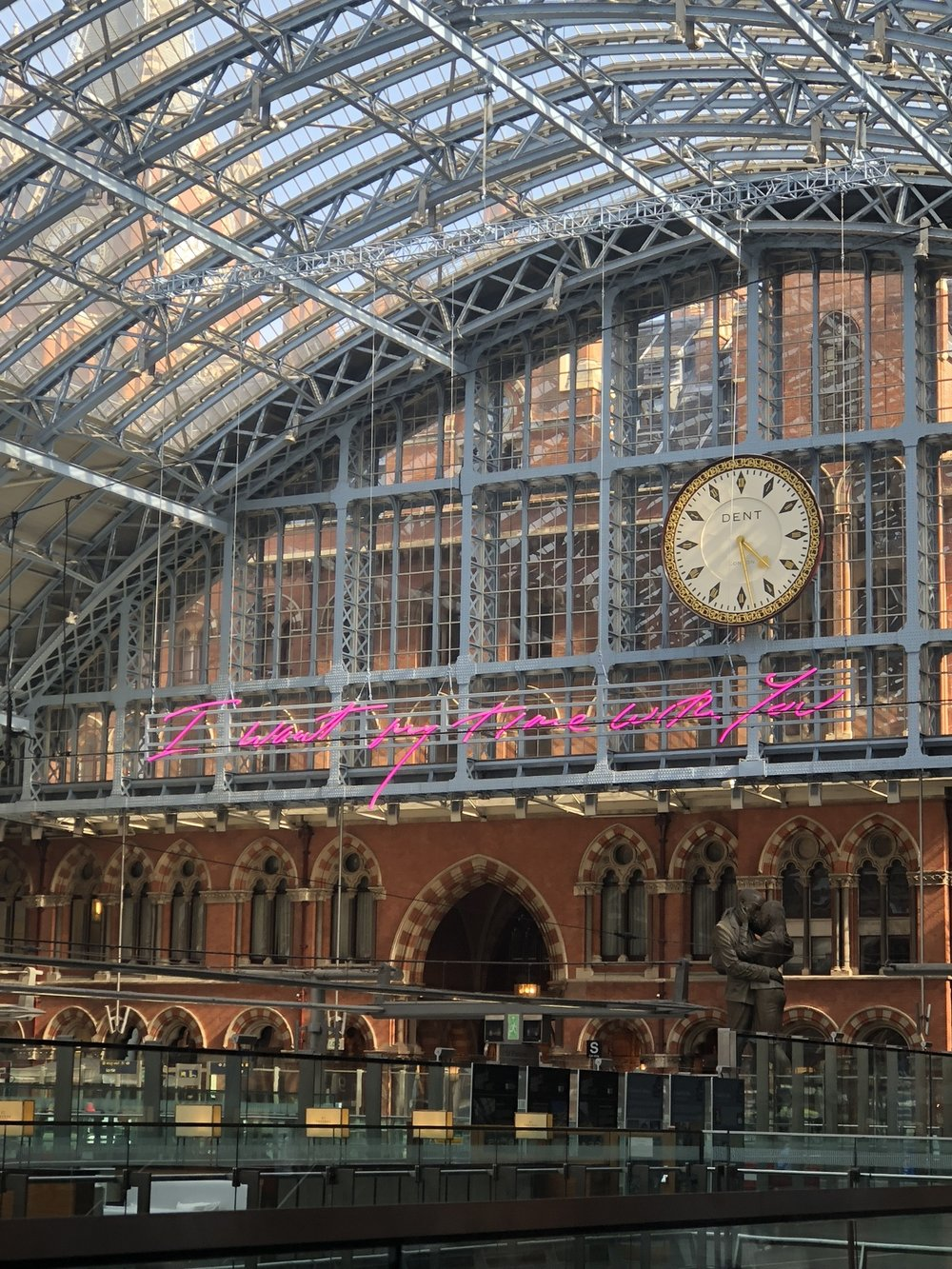 Tracey Emin's artwork for St Pancras station