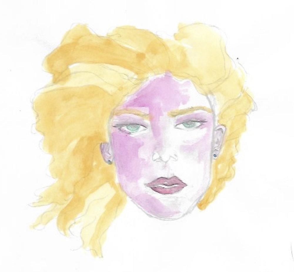women blonde hair