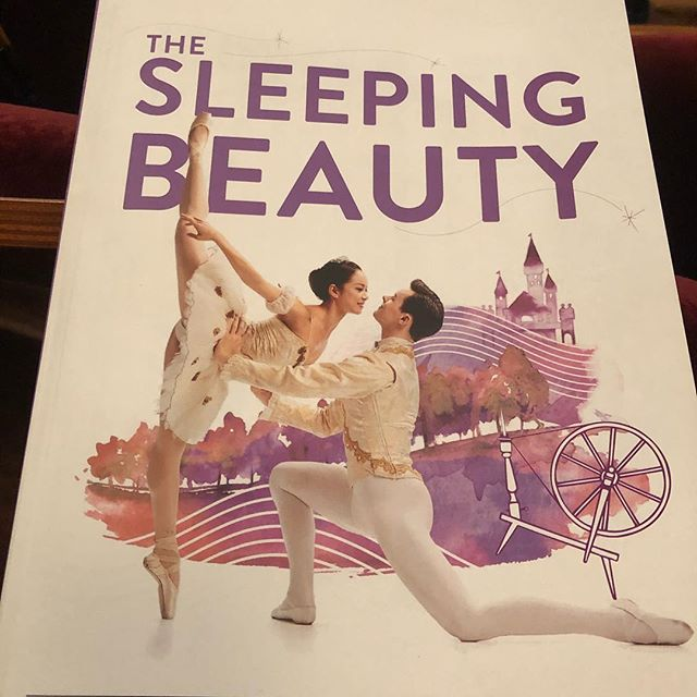 Was wonderful to see one of my favorites, The Sleeping Beauty, tonight. Bravi to all who were involved. What a wonderful performance. #sleepingbeauty #princessaurora @carneydevon