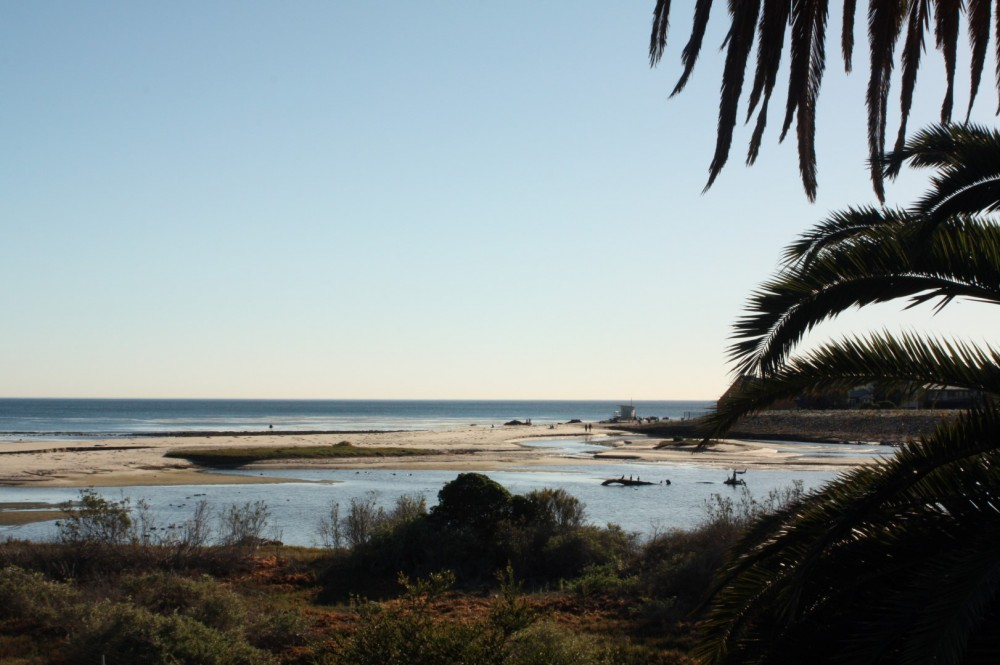 Malibu Lagoon - We park our truck studio just steps from this view. Enjoy the comfy cabin as your home base. $130 per day. Includes all-day parking fee. (Site has public restrooms and picnic tables, plus Malibu Village shops and cafes are across the street.)