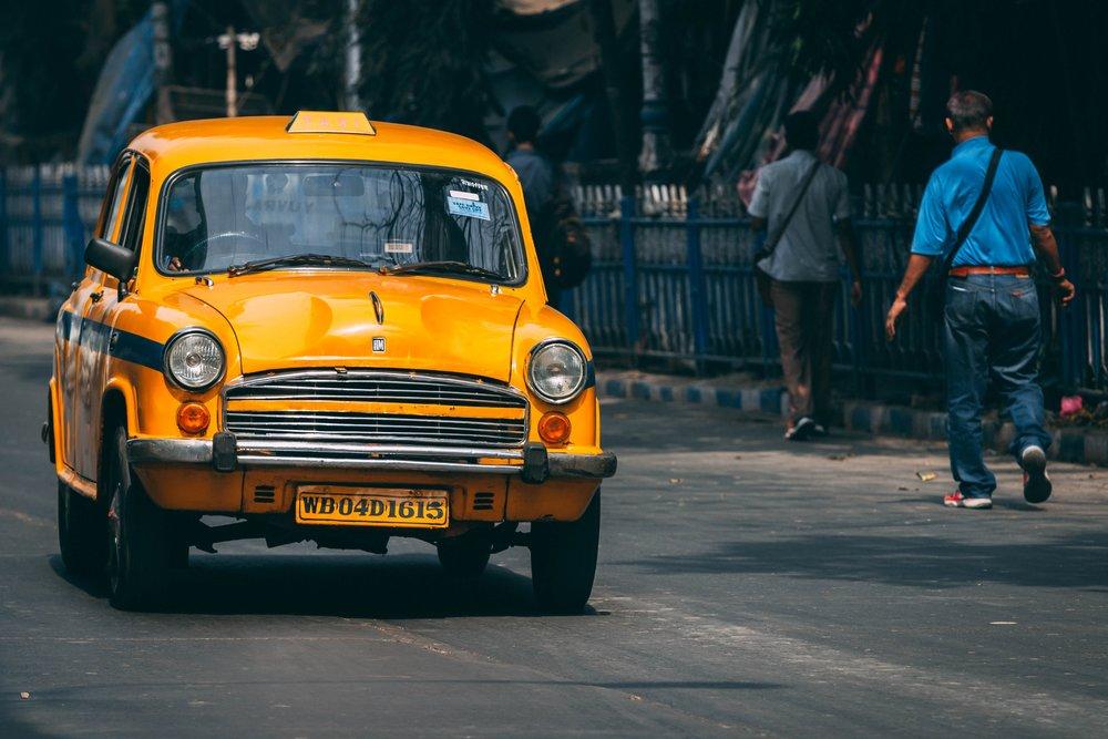 Copy of Yellow taxi, Kolkata