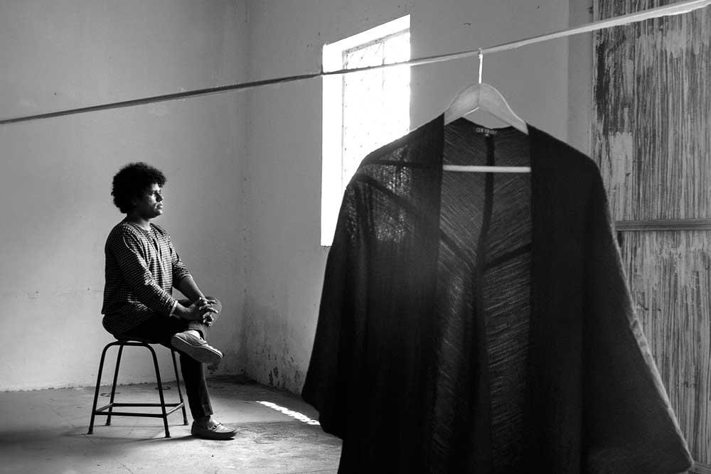 Gaurav Jai Gupta in his studio
