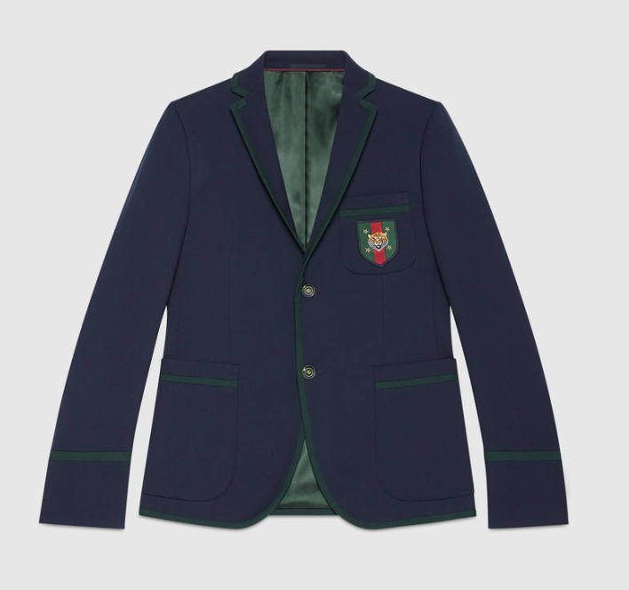 Cambridge 70s stretch twill jacket by Gucci