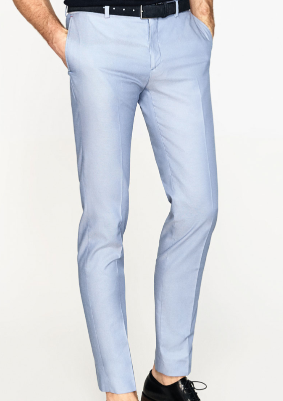 Zara ceramic suit trousers