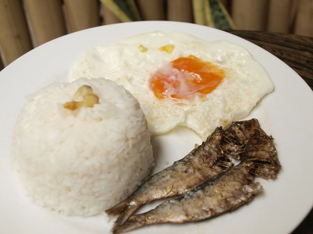 Tuyo and eggs