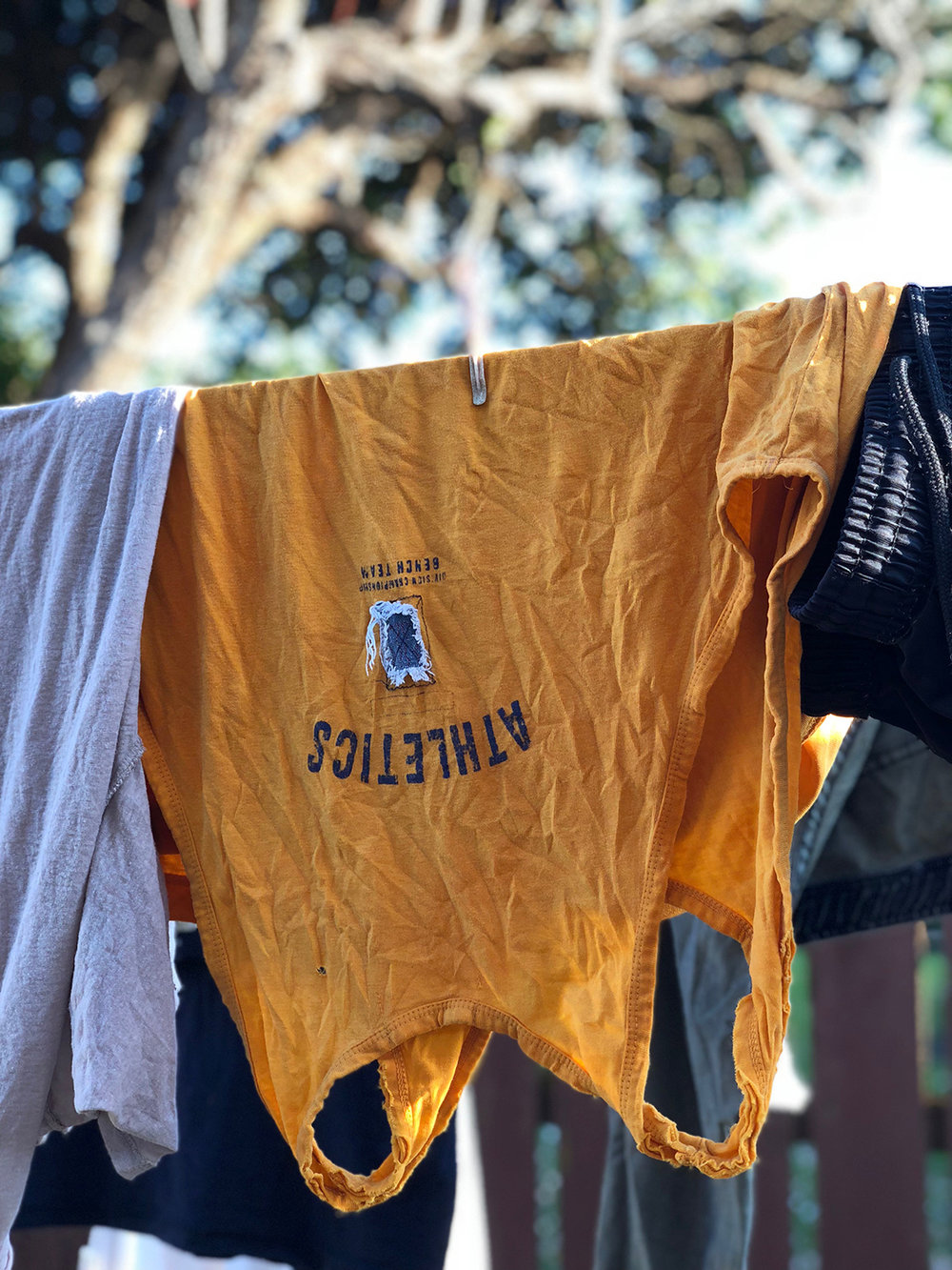 Summer laundry (dries faster)