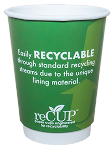 reCup RECYCLABLE CUPS